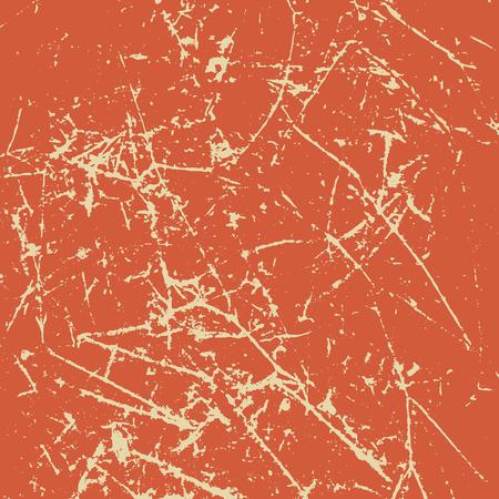 Scratched vintage grunge background. Illustration