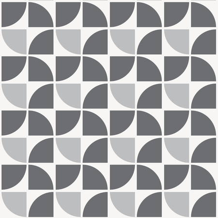 repeating quarter circle pattern, geometric pattern. pattern is on swatches panel