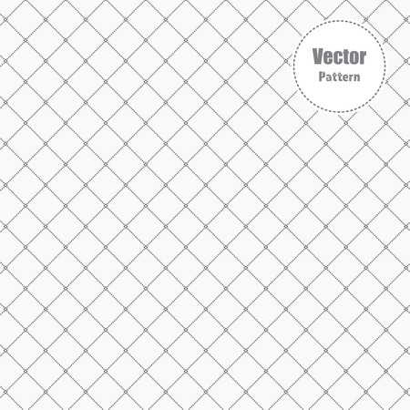 small abstract flower in stylish monochrome with geometric tiles of dotted rhombuses , vector pattern. pattern is on swatches panel Illustration