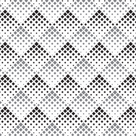 Halftone geometric square diamond shape pattern. pattern.graphic clean design for fabric, event, wallpaper etc. pattern is on swatches panel. Stock Vector - 86911147
