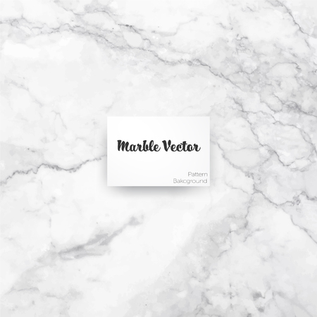 Carrara white marble texture background. Vector illustration.