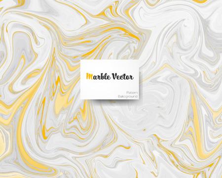 Carrara goldener cremeweißer Marmor mit goldener Textur auf Oberflächenvektorillustration.
