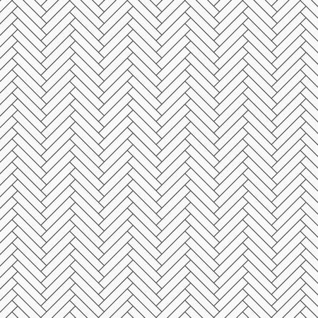 Herringbone pattern. Rectangles slabs tessellation, repeating with white slant blocks tiling. Floor cladding bricks. Mosaic motif. Pavement wallpaper. pattern is on swatches panel