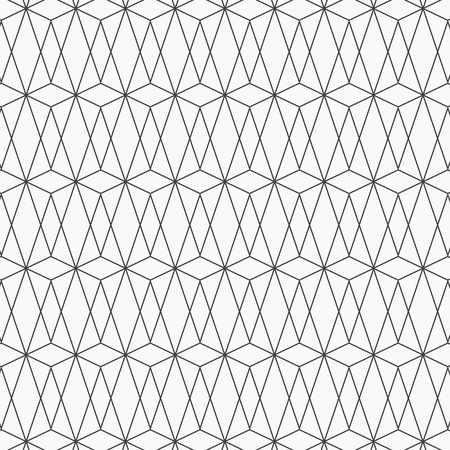 geometric pattern with diamonds, triangles. Polygons background. Image with repeated geometrical figures. Ethnic motif. pattern is on swatches panel