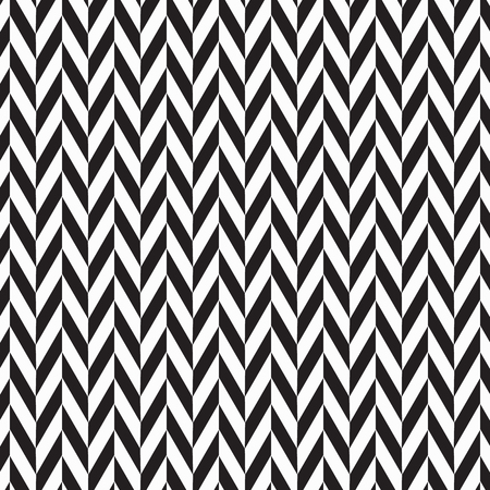 Herringbone abstract background. black colors surface pattern with chevron diagonal lines. Classic geometric ornament. Vector illustration. pattern is on swatches panel Vettoriali