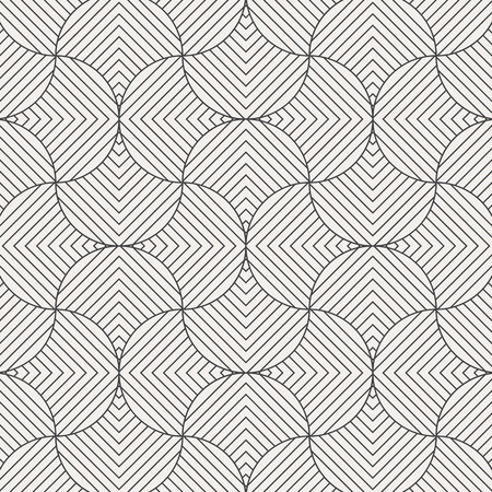geometric pattern vector. Geometric simple fashion fabric print. Vector repeating tile texture. Overlapping linear triangle funky theme or linear petal of flower. pattern is on swatches panel