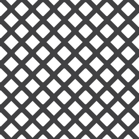 Grid, mesh, lattice background with rhombus, diamond shapes. Vetores