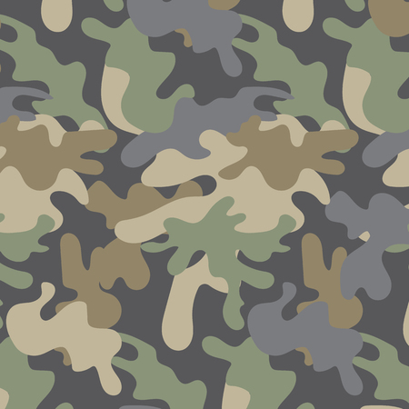 Texture camouflage military army repeats, pattern is on swatches panel