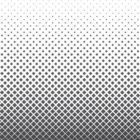 Vertical gradient halftone geometric diamond shape background. Pop art template, texture. Vector illustration Vetores