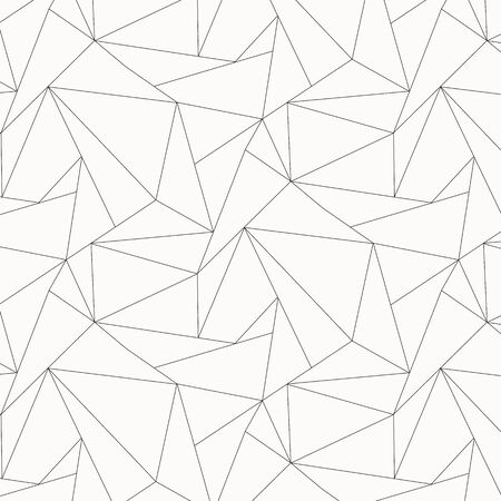 Geometric vector pattern, repeating asymmetry linear triangle shape or polygon triangle. pattern is clean for fabric, wallpaper and printing. Pattern is on swatches panel