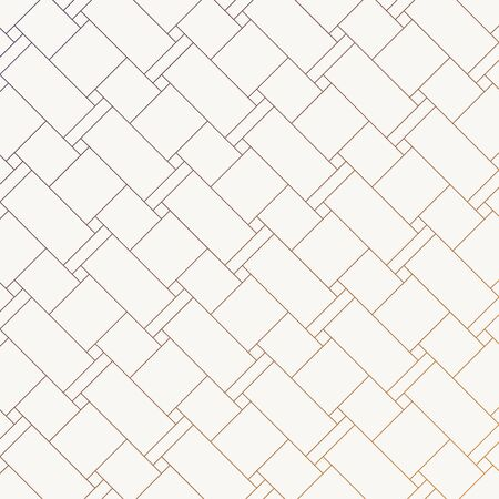 Geometric vector pattern, repeating linear rectangles and square weave, pattern is clean for fabric, wallpaper and printing. Pattern is on swatches panel