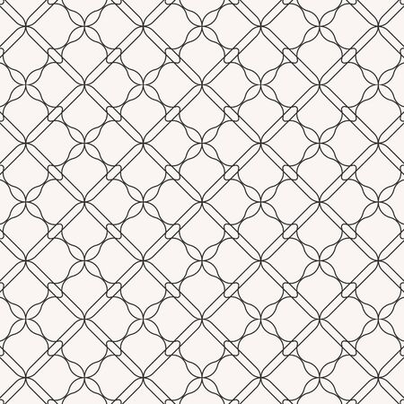 Geometric vector pattern, repeating abstract flower on diamond shape. pattern is clean for fabric, wallpaper and printing. Pattern is on swatches panel