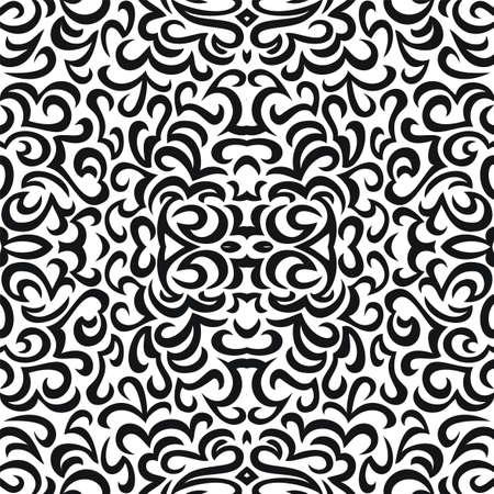 Seamless abstract vector wallpaper pattern Vector