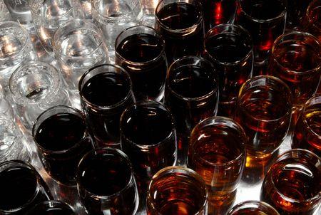rakia: aperitif different alcohol drinks