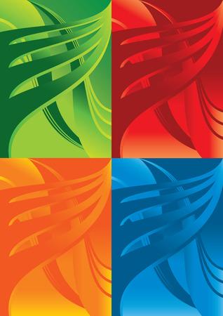 multicolor vector background Vector