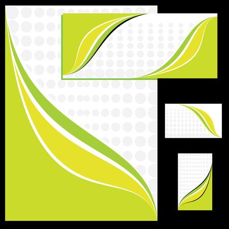 Corporate identity design Stock Vector - 3141380