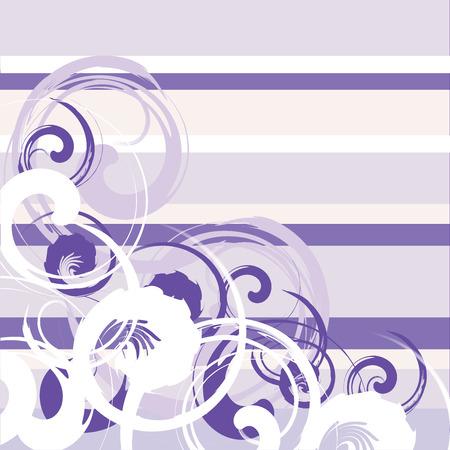 floral grunge stripes background Vector