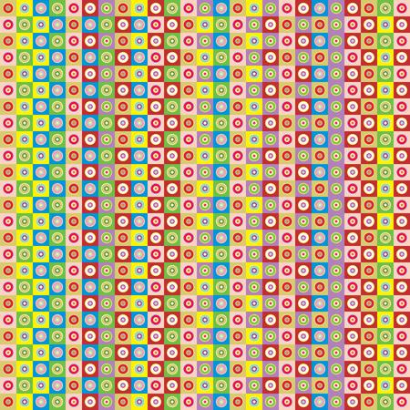 seamless bright wallpaper vector illustration Vector