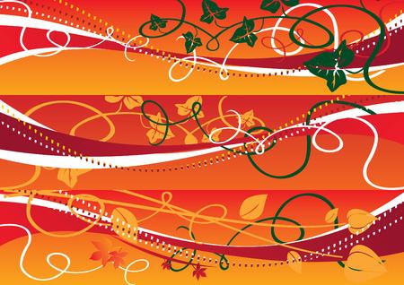 Autumn banners 2 vector illustration Vector