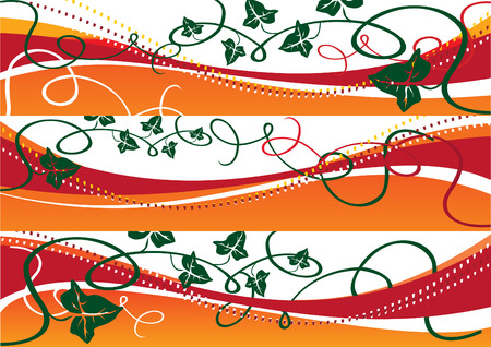 Autumn banners 3 vector illustration Vector