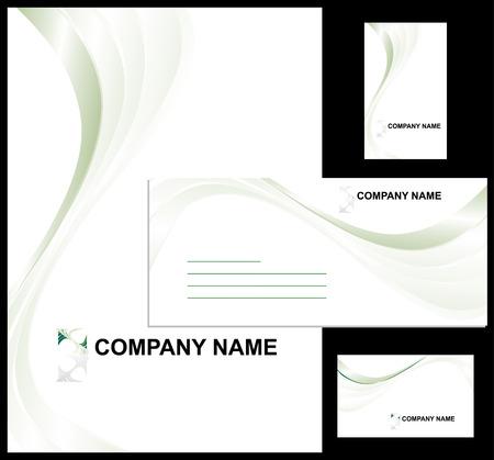 Corporate identity design template vector illustration Stock Vector - 3635772