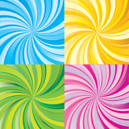 colorful beam rays background vector illustration Vector