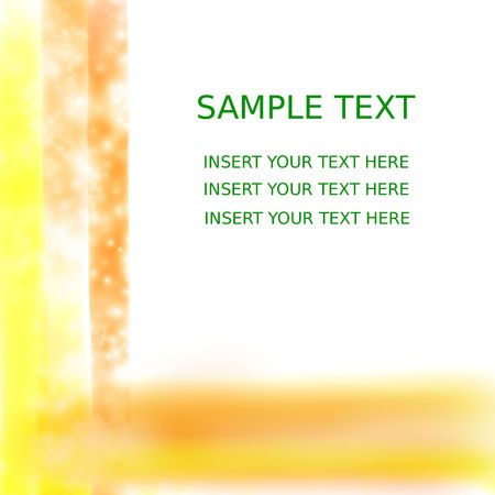 scraping: Abstract watercolor stationery frame with copy space, illustration