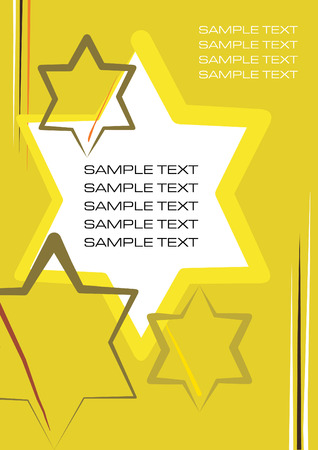 Corporate template background vector illustration Vector