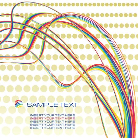scar: regenboog eigentijds ontwerp sjabloon achtergrond, vector illustration Stock Illustratie