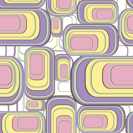 quadratic: Resumen patr�n sin fisuras, ilustraci�n vectorial Vectores