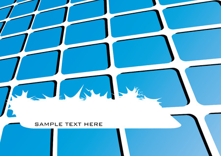 cover page: Abstract business modern cover page, vector