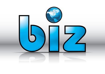 url: Biz Website Url Symbol, illustration