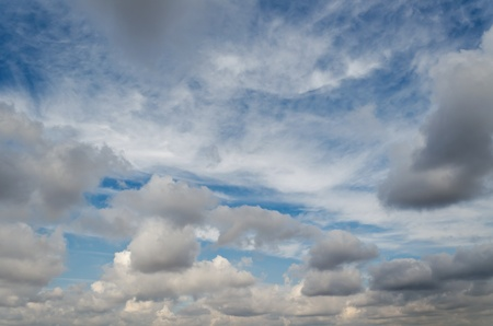 A Photograph of beautiful cloudy sky photo