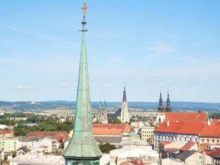 olomouc: Towers Olomouc Stock Photo