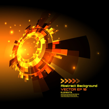 high tech design: abstract background for futuristic high tech design - vector