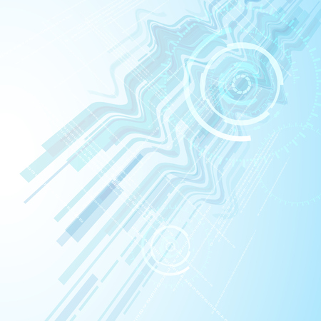communication concept: background abstract technology communication concept Illustration