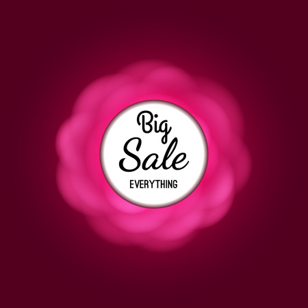 sale background with beautiful colorful flower. Vector illustration template.banners.Wallpaper.flyers, invitation, posters, brochure, voucher discount.