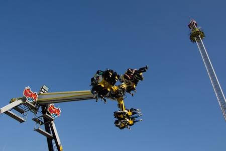 adrenalin: Adrenalin dutch attractions in and funfair Editorial
