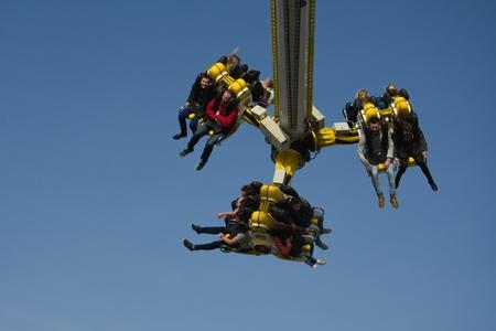 adrenalin: Adrenalin attraction in a funfair