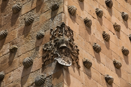 plateresque: Corner of the wall in Salamanca