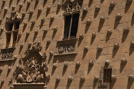 plateresque: Casa de las Conchas in Salamanca