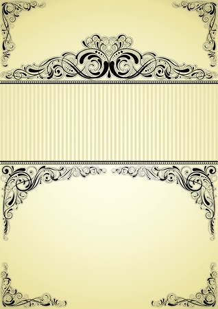 Retro frame design Stock Vector - 12042492