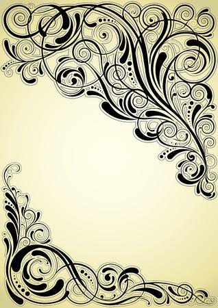 Angle swirl design Stock Vector - 12042483
