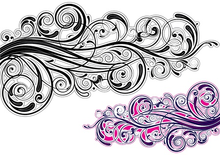 Graphic swirl design Stock Vector - 12205588