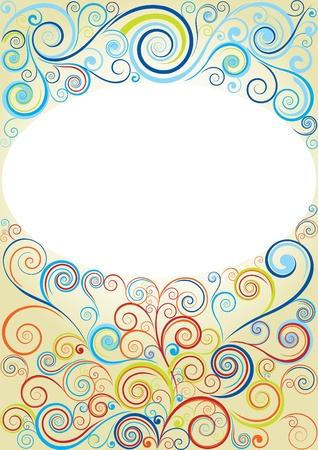 elipsy: Abstrakcyjne tło spirala