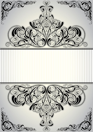 Background frame design  Vector