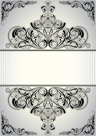 Background frame design  Vector
