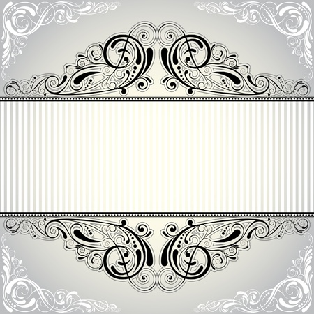 Background label  Vector