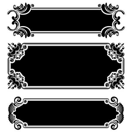 Retro frame  Stock Vector - 12205596