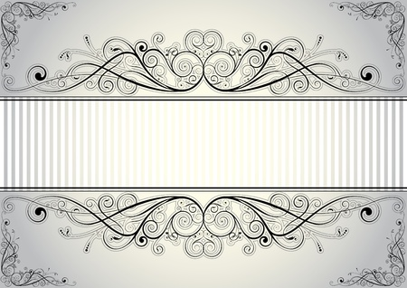 Floral frame  Stock Vector - 12205659